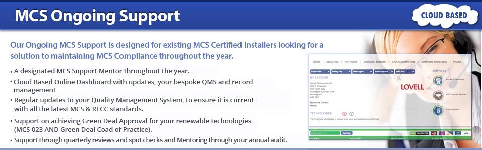 MCS Accreditation Support